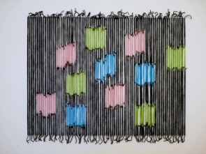 3 Blue Woolie Squares (2010)