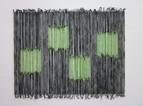 4 Green Woolie Squares (2010)
