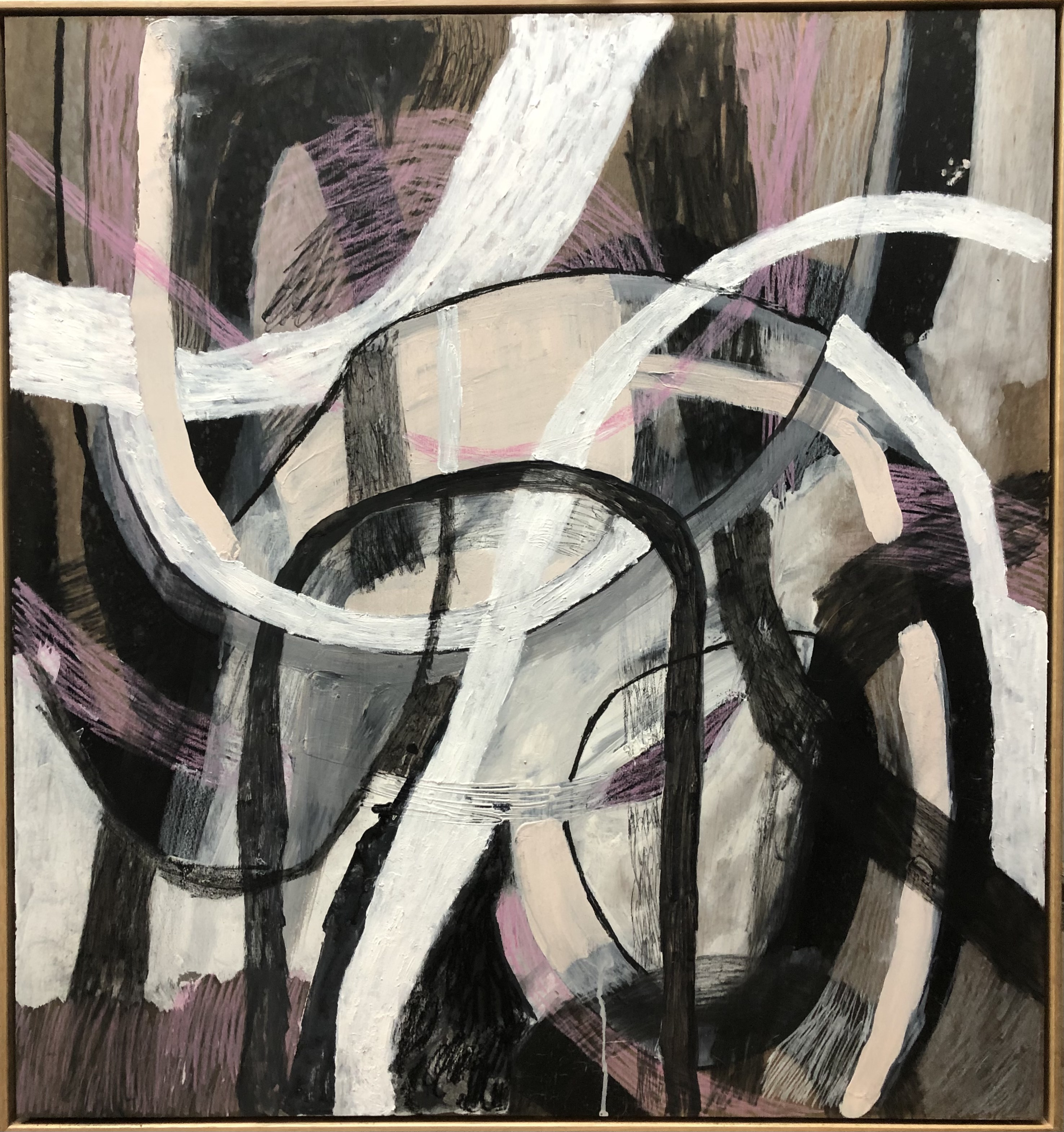 ahn-wells-somewhere-between-yours-and-mine-2021-mixed-media-on-board-87-x-82cm-framed